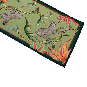 Table Runner Monkey Paradise in Delta