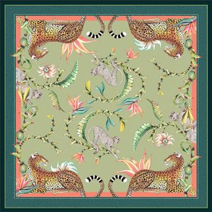 Tablecloth SQ – Monkey Paradise Delta