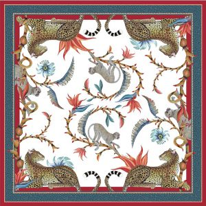 Tablecloth SQ – Monkey Paradise Sundowner